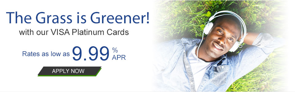 The grass is always greener with visa platinum card